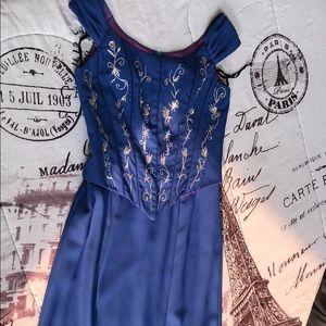 Blue Lenovia Gown